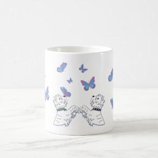 Westies and Butterflies Coffee Mug
