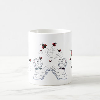 Westies and Ladybirds Coffee Mug