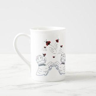 Westies and Ladybirds Tea Cup