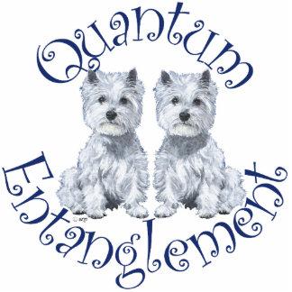Westies Quantum Entanglement Acrylic Cut Out