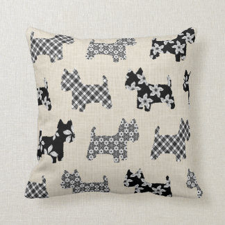 Westies Throw Pillow