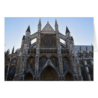 Westminster Abbey Card
