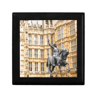Westminster Abbey in London Trinket Box