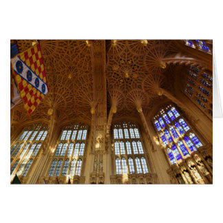 Westminster Abbey, Royal Air Force Chapel Card