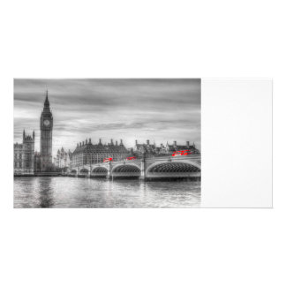 Westminster Bridge and Big Ben Photo Greeting Card