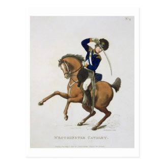 Westminster Cavalry Volunteer, plate 4 from 'Loyal Postcard