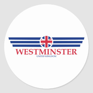 WESTMINSTER CLASSIC ROUND STICKER