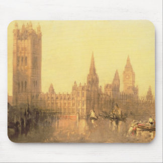 Westminster: Houses of Parliament, c.1860 (oil on Mouse Pad