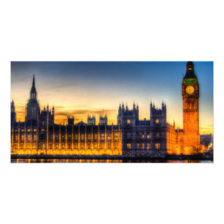 Westminster London Photo Card Template