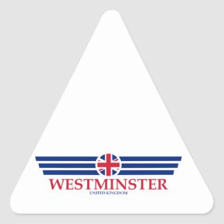 Westminster Triangle Sticker