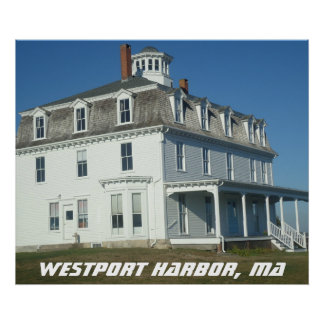 Westport Harbor, MA Poster