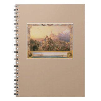 Westward the Course Fine Art Photo Notebook