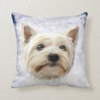 Westy in the Clouds Throw Pillow