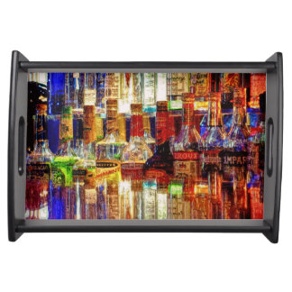 Wet Bar Abstract Food Trays