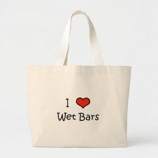 Wet Bars Canvas Bag