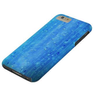 Wet Blue Tough iPhone 6 Plus Case