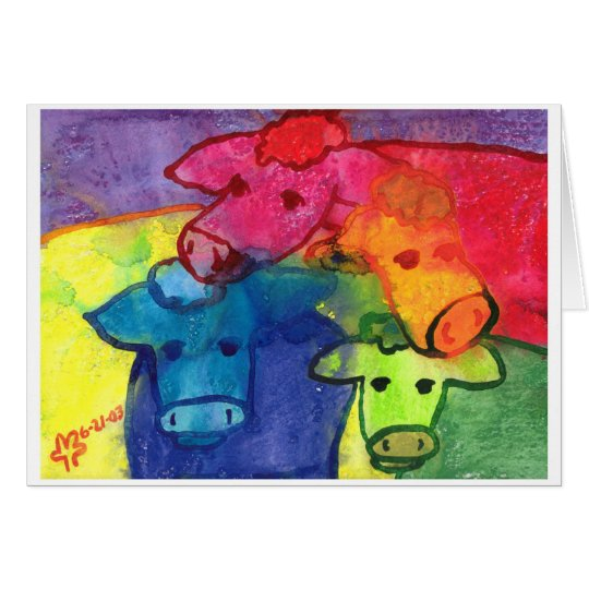 Wet Cows Card