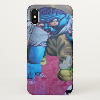 Wet Fingertips Graffiti Houston iPhone X Case
