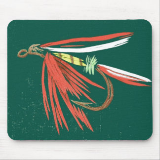 """Wet Fly #2"" Trout Fly Mousepad"