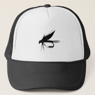 Wet Fly Silhouette Trucker Hat