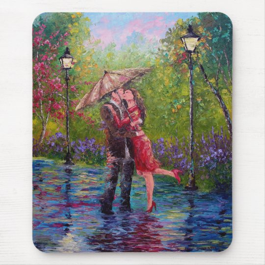 WET KISS MOUSE PAD