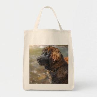 Wet Leonberger Tote Bag