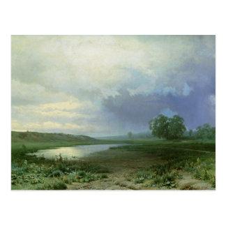 Wet Meadow, 1872 Postcard