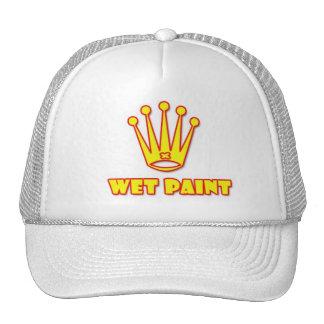 wet paint paintball logo trucker hat