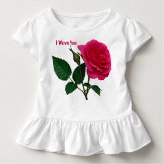 Wet Rose Toddler Ruffle T Toddler T-shirt