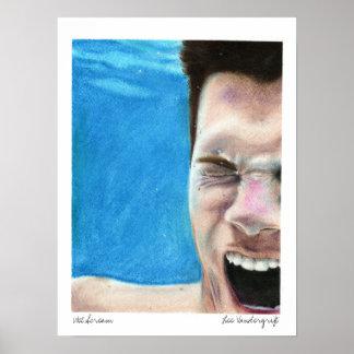 Wet Scream by Lee Vandergrift Poster