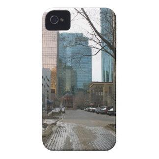 Wet Street in Downtown Edmonton iPhone 4 Case