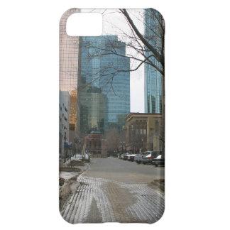 Wet Street in Downtown Edmonton iPhone 5C Covers