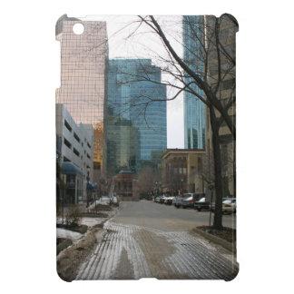 Wet Street in Downtown Edmonton iPad Mini Cases