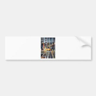 Wet Tram Calafornia Bumper Sticker