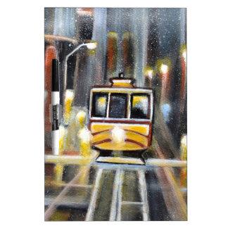 Wet Tram Calafornia Dry Erase Board