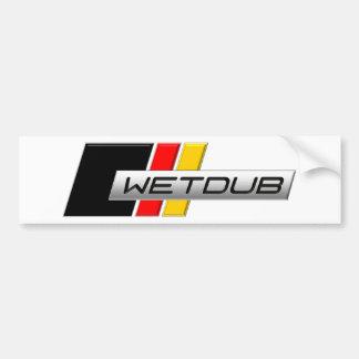 Wetdub Logo by Brent Davis Bumper Sticker