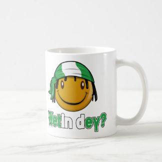 Wetin dey? coffee mug