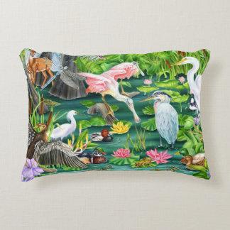 Wetland Wonders Accent Pillow