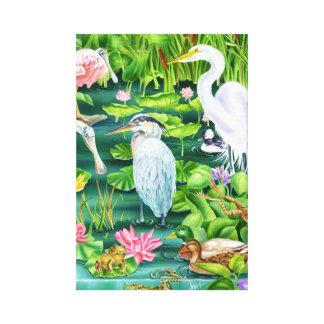 Wetland Wonders Canvas Print