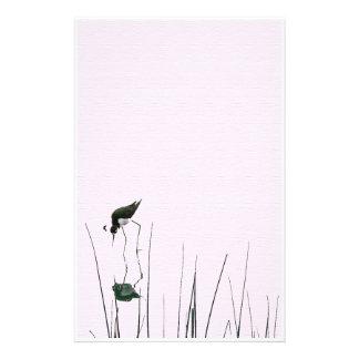 Wetlands Bird Art Stationery