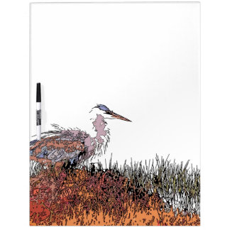 Wetlands Birds Wildlife Animals Photography Dry Erase Boards