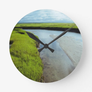 Wetlands Round Clock