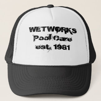 WETWORKS Pool Careest. 1981 Trucker Hat