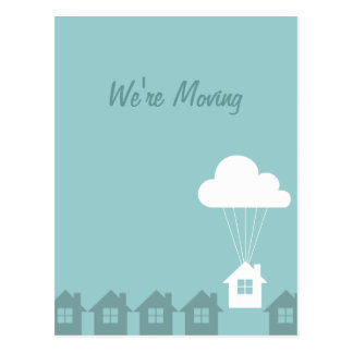 We've Moved Announcement Postcards