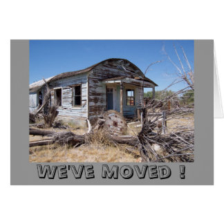 We've Moved ! cards - Customized