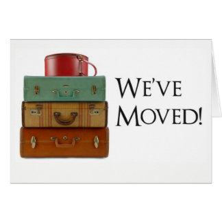 We've Moved! Change of Address Card