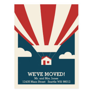 We've Moved! Moving Announcement Postcard