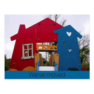 We've moved New Home New Life Postcard