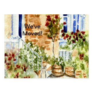 """""""We've Moved!"""" New Home Postcard"""