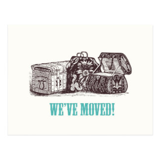 We've Moved! Postcards